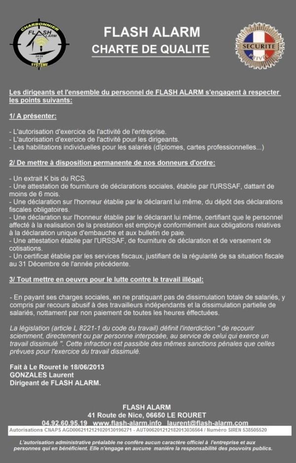 Charte De Qualit